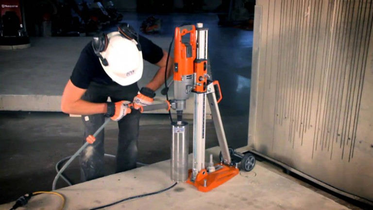 Concrete Corer And Stand